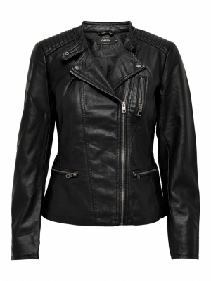 FREYA FAUX LEATHER BIKER OTW  logo