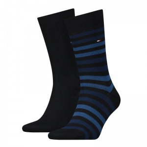 DUO STRIPE SOCK 2P logo