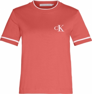 CK EMBROIDERY TIPPING TEE logo