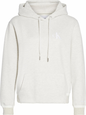 CK EMBROIDERY TIPPING HOODIE logo