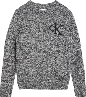 CK MONOGRAM SWEATER logo