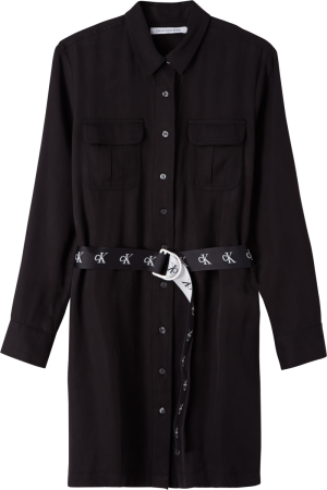 UTILITY SHIRT DRESS logo