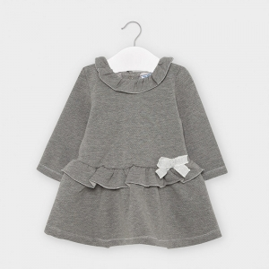 FLEECE LUREX DRESS logo
