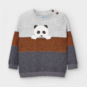 STRIPED SWEATER logo