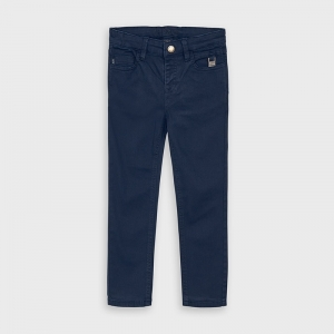 5 POCKET ELASTAN SKINNY PANTS logo