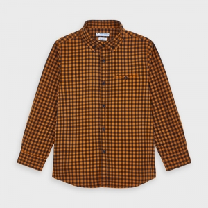 FLANNEL LONG SLEEVE SHIRT logo