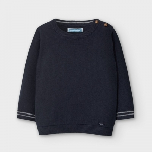 BASIC CREW NECK SWEATER logo