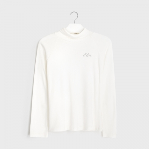 RIBBED KNIT TURTLENECK logo