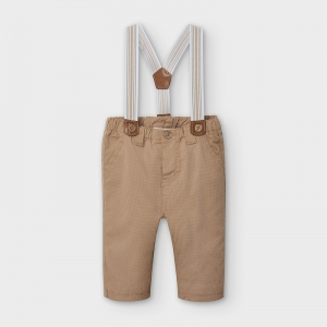 LONG TROUSERS WITH SUSPENDERS logo