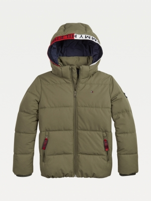 ESSENTIAL PADDED JACKET logo