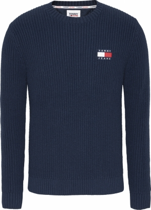 TOMMY BADGE SWEATER logo