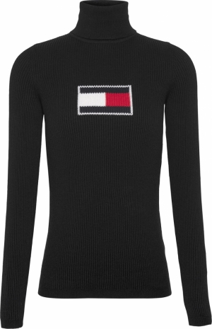 TOMMY FLAG ROLL NECK logo