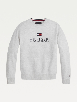 MULTI COLOR MELANGE SWEATER logo