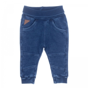 SWEATBROEK DENIM LOOK logo