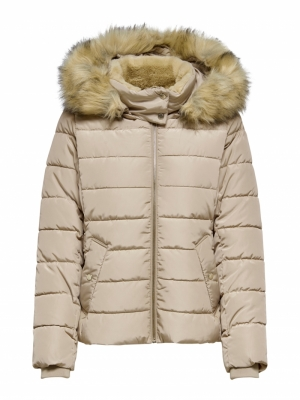 ONLCAMILLA QUILTED JACKET CC O logo