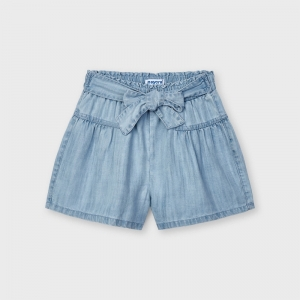 DENIM SHORT PANT logo
