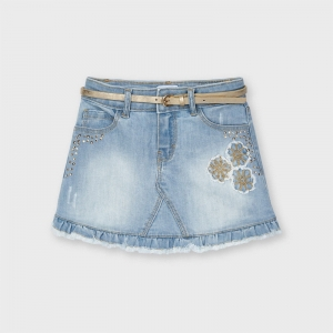 DENIM SKIRT logo