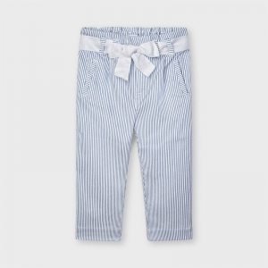 STRIPED LUREX LONG PANTS logo