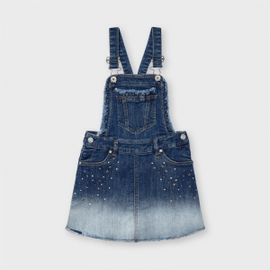 DENIM SKIRT PINAFORE logo