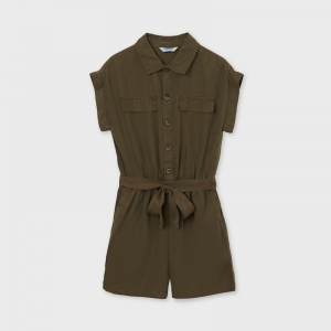 ROMPER WITH BELT logo