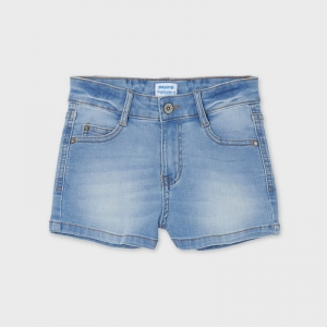 BASIC DENIM SHORTS logo