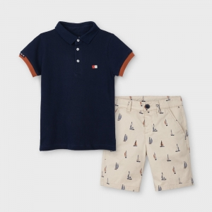 PRINTED SHORTS SET logo