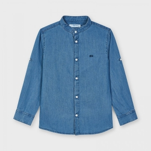 DENIM SHIRT logo