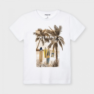 "T-SHIRT ""WEEKEND VIBES"" logo"