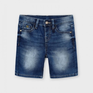 DENIM 5B SOFT SHORTS logo