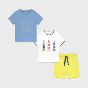 "3 PCS SET ""OCEAN"" logo"