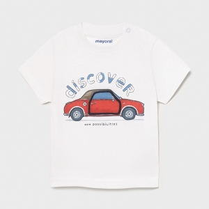"T-SHIRT ""PLAY"" ""CAR"" logo"