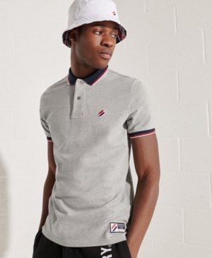 SPORTSTYLE TWIN TIPPED POLO logo