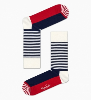 HALF STRIPE SOCKS logo