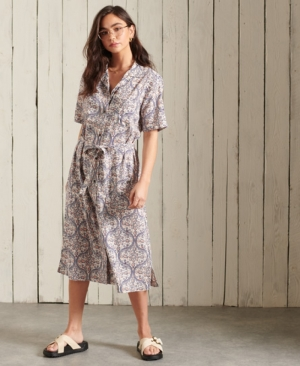 PRINTED SHIRTDRESS logo