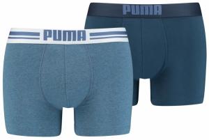 PUMA PLACED LOGO BOXER 2P logo