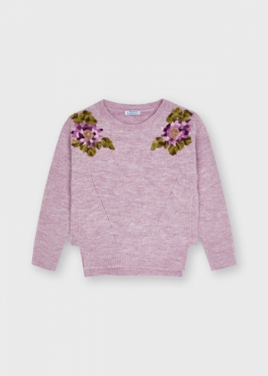FLORAL SWEATER logo