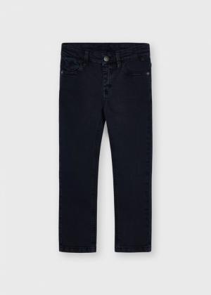 5 POCKET SKINNY FIT PANTS logo