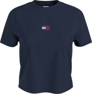TOMMY CENTER BADGE TEE logo