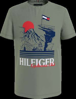 HILFIGER EXPLORER TEE S-S logo