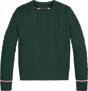 ESSENTIAL CABLE SWEATER logo