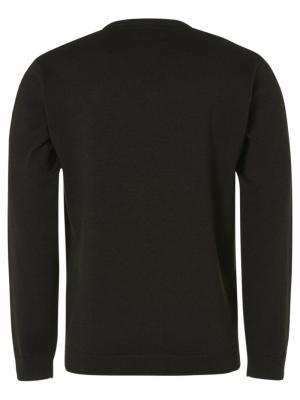 Pullover V-Neck 2 Coloured Mel logo