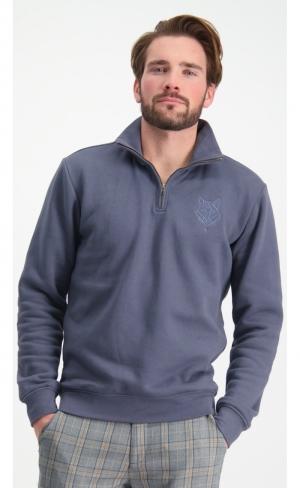 Sweatshirt Half Zip logo