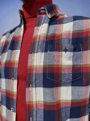 Regular Shirt Flannel Check logo