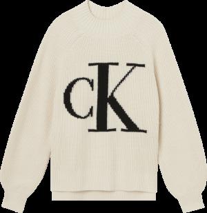 CK RAGLAN SWEATER logo