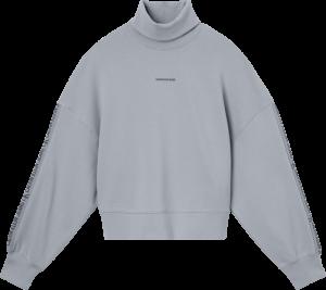 LOGO TRIM ROLL NECK logo