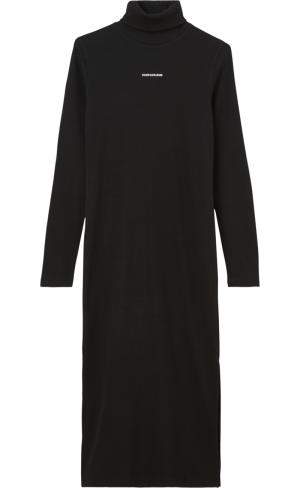 MICRO BRANDING ROLL NECK DRESS logo